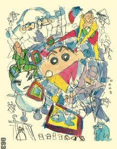 Yuasa Masaaki Complete Sketchbook for Animation Projects Masaaki Yuasa BOOK Make A Character, Crayon Shin Chan, Anime Japan, Dream City, Festival Posters, Art Styles, Art Sketchbook, Sketchbooks, Slay
