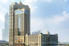 The St. Regis Dubai - Hotel exterior road view - opening October 2015
