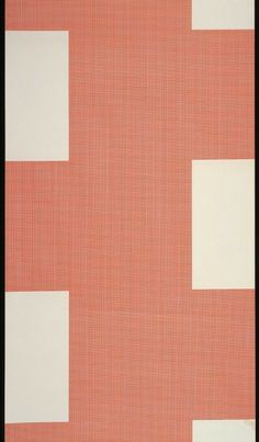 Mauer, Wallpaper by Le Corbusier, Produced by Salubra, 1959