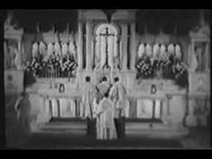 Bishop Sheen explains the Mass. Beautiful. Traditional Latin Catholic Mass: Easter Sunday - YouTube