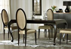 Mesa de comedor extensible clásica Mirage