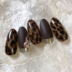 After all scalp faction ♡ gorgeous long nail in winter Shellac Nails, Stiletto Nails, Glitter Nails, Classy Nails, Cute Nails, Pretty Nails, Tiger Nails, Leopard Nails, Latest Nail Art