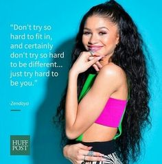 Good advice from Zendaya!