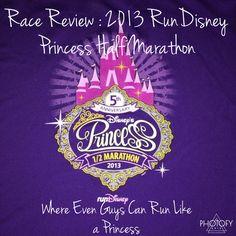 Casual Runner's Race Review of RunDisney's 2013 Princess Half Marathon - Where Even Guys Can Run Like a Princess  #rundisney #disney #waltdisneyworld #princess #princesshalf #princesshalfmarathon #half #halfmarathon #13point1 #run #epcot #magickingdom #prince #firsthalfmarathon