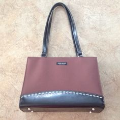 Kate Spade purse not sure if it's authentic or not, but still a cute purse and very clean, minor damage on the outside (see picture 3) other than that in great shape!!! kate spade Bags Shoulder Bags