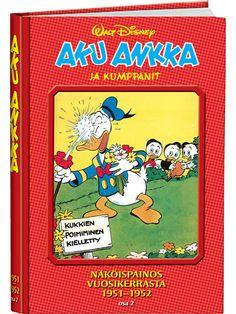 Aku Ankka ja kumppanit näköispainos 1951-1952, osa 2
