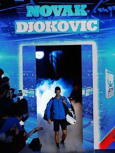 Novak Djokovic no ATP Finals (Foto: Getty Images)