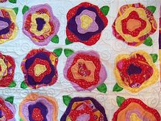 French roses-I have this pattern in BH Think Pink special issue from 5? 8? years ago (breast cancer quilts)