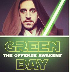 Aaron Rodgers, the best Jedi. Packers Memes, Packers Funny, Packers Baby, Go Packers, Nfl Memes, Packers Football, Football Memes, Greenbay Packers, Funny Memes