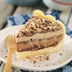 Ladyfinger Ice Cream Cake - no one will believe that you didn't fuss when you bring out this ice cream cake. Easy recipe
