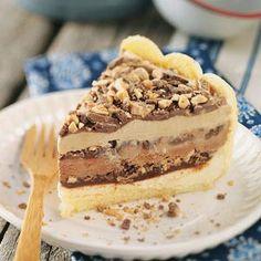 Ladyfinger Ice Cream Cake