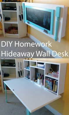 Incroyable 15 Creative DIY Organizing Ideas For Your Kids Room