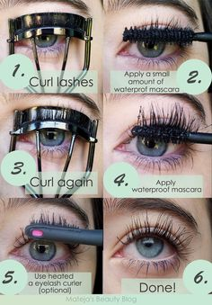 Mateja's Beauty Blog: How to Curl Stubborn and Difficult-to-Curl Lashes