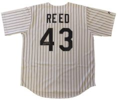Addison Reed Autographed Chicago White Sox Jersey W/PROOF, Picture of Addison Signing For Us, Chicago White Sox, Top Prospect ** Learn more by visiting the image link.