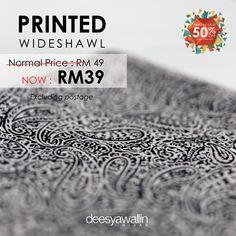 Printed Wideshawl