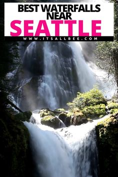 Guide to the best waterfalls near Seattle and other beautiful waterfalls in Washington State. From Snoqualmie Waterfall, Twin Falls, Wallace Falls, Coal Creek Falls & more. #seattlewaterfalls #washington |Waterfalls Near Seattle | Seattle Waterfalls | Waterfalls In Seattle Washington | Hikes Near Seattle Waterfalls | Waterfalls In Seattle | Best Waterfalls In Washington State | Washington Waterfalls Map | Famous Washington State | Waterfalls In Seattle Washington | Best Waterfalls Near…