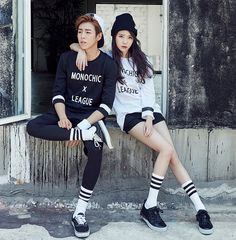 IU and Lee Hyun Woo for Unionbay Fall 2015 Ad 5