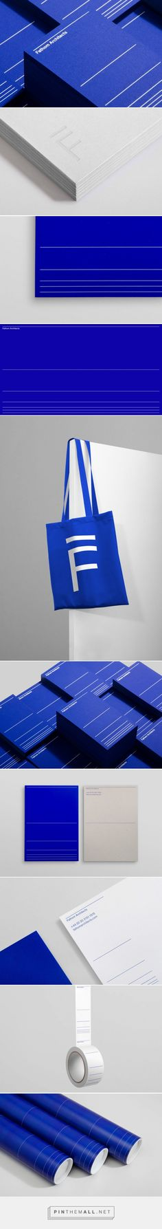 Fathom Architects Branding by dn&co