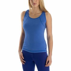 Merino Lightweight Tank: Merino wool is a natural choice for base layers, as it's soft, itch-free, and buffers well against sudden temperature changes. Mountain Equipment, Range Of Motion, Merino Wool, Basic Tank Top, How To Make, How To Wear, Free Shipping, Tank Tops, Blue