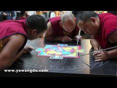 Sand Mandalas: Creating a Perfectly Harmonious World