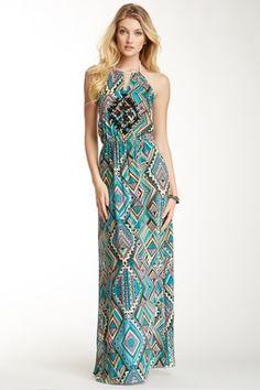 Samoa Halter Maxi Dress
