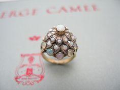 Thai opal princess ring