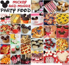 mickey and minnie mouse party food