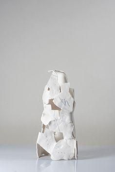 Abstract Sculpture, Sculpture Art, Monster Rocks, Moon Jar, Contemporary Ceramics, New Art, Blue And White, Workshop, Porcelain