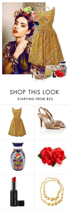 """Mexican city inspired"" by priscilla12 ❤ liked on Polyvore featuring Dolce&Gabbana, Salvatore Ferragamo, NOVICA, Tasha, Butter London, Marco Bicego, women's clothing, women, female and woman"