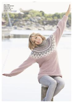 Tåke genser - Viking of Norway Vikings, Norway, Knitwear, Knitting Patterns, Knit Crochet, Turtle Neck, Pullover, Fashion Outfits, Sewing