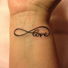 Best Body - Tattoo's - Love never ends......
