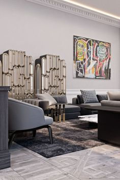 Combining the concept of art and design, these contemporary center tables are gorgeous in their own way, they can be the statement piece you've been looking for to add the finishing touch to your living room design. #coffeetabledesign #centertableideas #modernlivingroom #livingroomdecor #luxurylivingroom #millionairehome #luxuryapartment #insplosion #covethouse #bocadolobo Top Interior Designers, Luxury Interior, Luxury Furniture, Furniture Design, Living Room Designs, Living Room Decor, Coffee Table Design, Center Table, Modern Coffee Tables