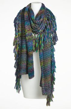 Laundry by Shelli Segal Space Dye Chunky Knit Scarf available at #Nordstrom
