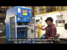 Available at Sierra Victor Industries: DAKE Automatic C-Frame Press. For more information or to order, CALL 386-304-3720, VISIT http://sierravictor.com/index.php?dispatch=products.view&product_id=4103