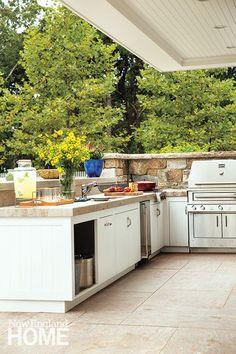 cape cod outdoor kitchen