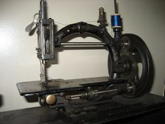 1870's French sewing machine