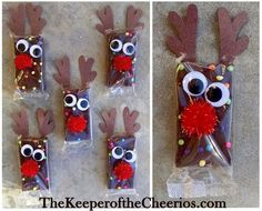 Christmas Treat Ideas Unfortunatley today most schools will not allow for homemade treats at holiday parties so we have compiled a bunch of wonder Christmas treats that are all adorable prepackaged ideas for a school Christmas Party! These ideas. Christmas Goodies, Diy Christmas Gifts, Christmas Projects, Winter Christmas, Holiday Crafts, Christmas Holidays, Homemade Christmas, Christmas Tables, Nordic Christmas