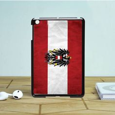 Austria flag texture iPad Mini 2 Case Dewantary