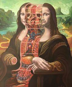 Art And Illustration, Medical Illustration, Art Bizarre, Weird Art, Ouvrages D'art, Medical Art, Pop Surrealism, Psychedelic Art, Horror Art