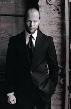 Jason Statham/••••men look so nice in a suit, especially if it's well fitted.