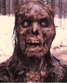 Eva's rotting corpse in 1981's Ghost Story (courtesy of Dick Smith)