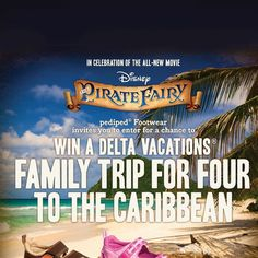 Pediped: Win a Family Trip to the Caribbean!
