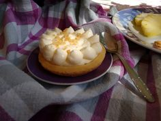 Cheesecake all'ananas.