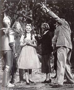 Behind the scene of The Wizard of Oz