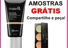 Amostras Grátis Nacional - Make B. Base Líquida Color Adapt NÃO É SORTEIO!!! 1) Curta 2) Comparti...