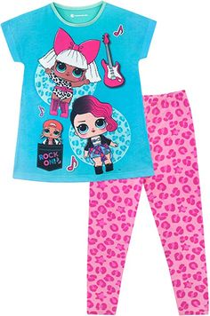 L Surprise! Girls Diva and Rocker Pyjamas Tights-Leggings Socks Sets Jackets-Gilets Kids Pajamas, Pyjamas, Dance Outfits, Boy Outfits, Kids Wigs, Lol Doll Cake, 7th Birthday Party Ideas, Back To School Bags, Flower Girl Shoes