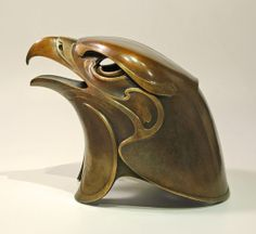 Great piece of metal work, Hokioi • New Zealand Eagle by Todd Couper