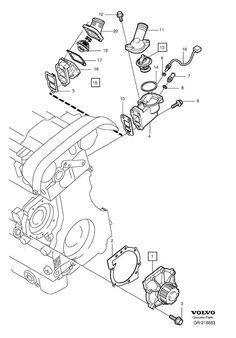 14 mejores im genes de v70 accesorios volvo v70 antique cars y 1998 Volvo V70 Interior coolant pump thermostat 5 cylinder volvo v70 radiadores bomba