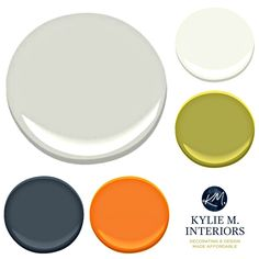 Paint Colour palette ideas for a boys, teenage boy bedroom with BEnjamin Moore Revere Pewter. Kylie M INteriors E-design
