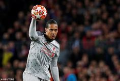 Virgil van Dijk held things together when Barcelona were on top before Messi took control Liverpool Players, Liverpool Fc, James Milner, Virgil Van Dijk, Marc Andre, Own Goal, Free Kick, Under Pressure, Philippe Coutinho
